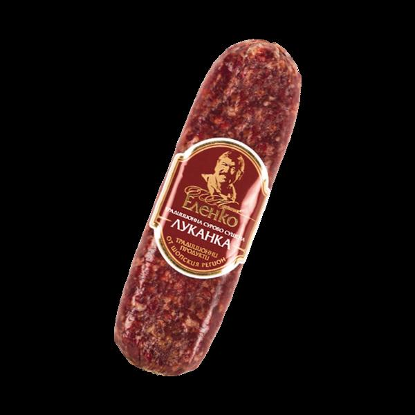 Elenko lukanka flat sausage