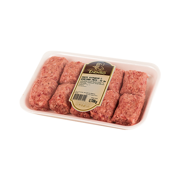 Кюфте с месо от елен охладено 70гр. 1,00лв.