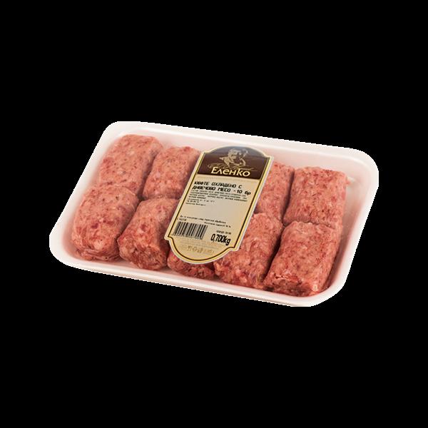 Кюфте с месо от диво прасе